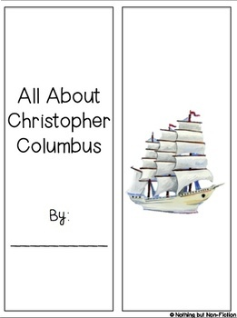 Columbus Day Reading Passage and Lapbook