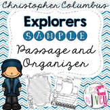 Christopher Columbus Passage and Organizer SAMPLE