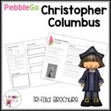 Christopher Columbus PebbleGo research brochure
