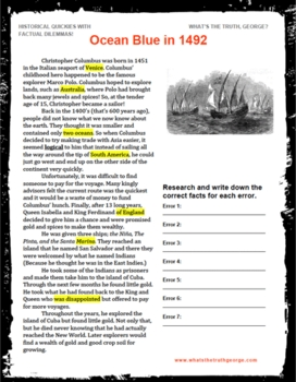 Christopher Columbus Podcast Package American History