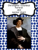 Christopher Columbus Portrait and Anchor Chart Poster - Fa