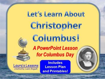 Christopher Columbus PowerP... by Laura's Lessons | Teachers Pay ...