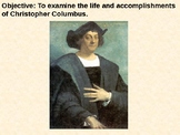 Christopher Columbus PowerPoint Presentation