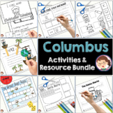 Christopher Columbus Preschool and PreK Literacy Activities