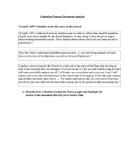 Christopher Columbus Primary Document Analysis