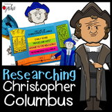 Christopher Columbus: QR Code Scavenger Hunt & Research Lap Book with Flip Book