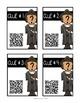 Christopher Columbus: QR Code Scavenger Hunt & Research Lap Book with Flip Book