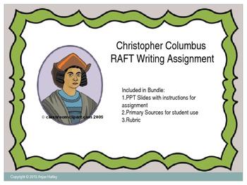 Christopher Columbus RAFT Assignment