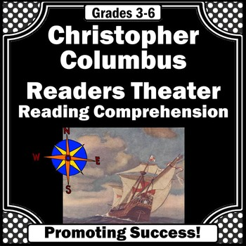 Christopher Columbus Day Readers Theater Play Literacy Activities & Worksheets
