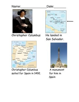 Christopher Columbus Reading Comprehension
