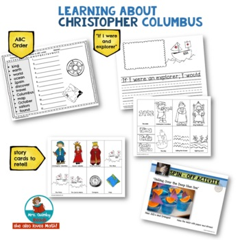 Christopher Columbus - Reading Texts and Writing Prompts -[Word Study]