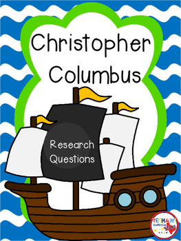 Christopher Columbus Research Questions