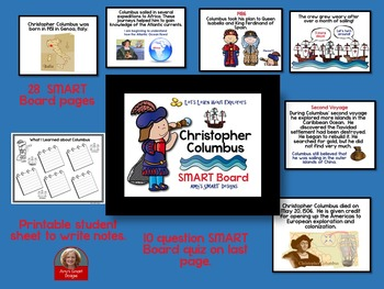 Christopher Columbus SMART Board Lesson