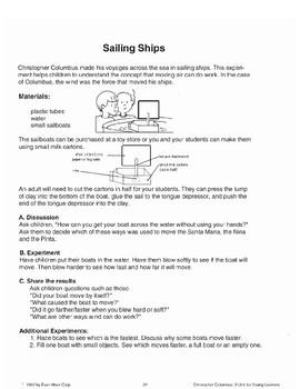 Christopher Columbus' Sailing Ships