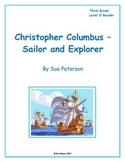 Christopher Columbus - Sailor and Explorer: Third Grade Level O Reader