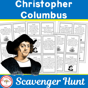 Christopher Columbus Scavenger Hunt