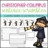 Christopher Columbus Sentence Scrambles
