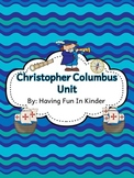 Christopher Columbus Fun and Easy Centers