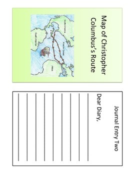 Christopher Columbus Simulation Reading and Writing Activity
