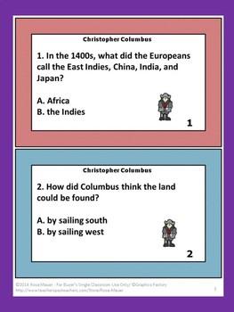 Christopher Columbus Cornerstones of Freedom
