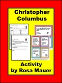 Christopher Columbus Task Cards and Worksheet
