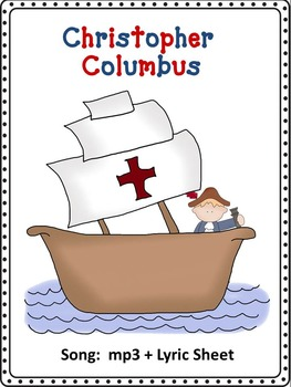 Columbus Day Song Mp3 and Lyric Sheet