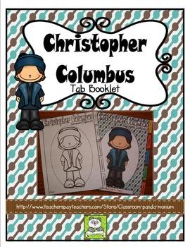 Christopher Columbus Tab Booklet