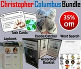 Christopher Columbus Day Task Cards and Activities Bundle