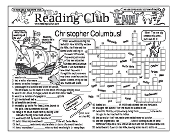 Christopher Columbus Two-Page Activity Set