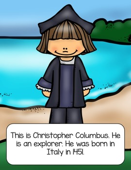 Christopher Columbus Thematic Unit & Craft