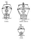 Nina, Pinta And Santa Maria - Christopher Columbus Ships Clipart - Free  Transparent PNG Clipart Images Download