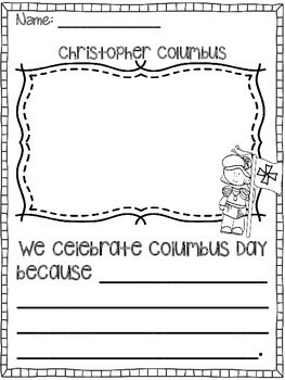 Christopher Columbus Unit- Interactive Notebook
