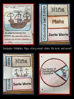 Christopher Columbus Unit- Interactive Notebook