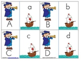 Christopher Columbus Upper and Lower Case Match Game