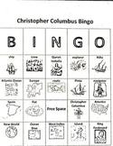 Christopher Columbus Vocabulary Bingo