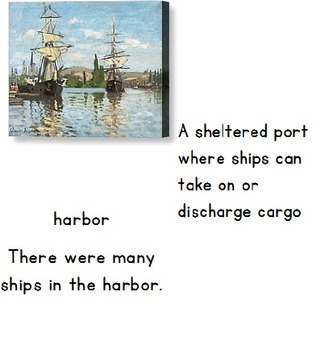 Christopher Columbus Vocabulary Cards