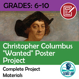 "Columbus ""Wanted"" Poster Project"