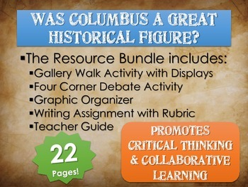 Christopher Columbus: Was he a great historical figure? Gallery Walk, Assignment