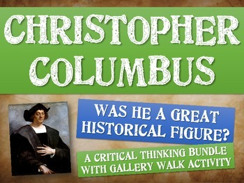 Christopher Columbus: Was he a great historical figure? Ga