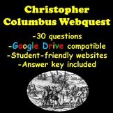 Christopher Columbus Webquest