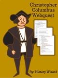 Christopher Columbus Webquest (Kid Friendly Website)