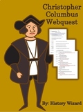 Christopher Columbus Webquest (Kid Friendly Website)