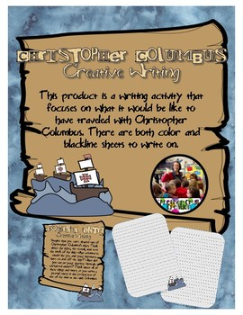 Christopher Columbus Writing