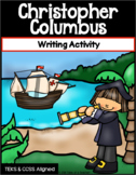 Christopher Columbus ~ Writing Activity