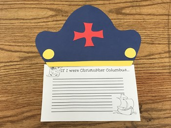 Christopher Columbus Writing Craftivity