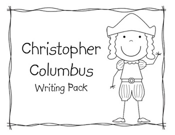 Christopher Columbus Writing Pack