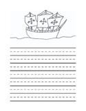 Christopher Columbus Writing Template #2