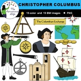 Christopher Columbus and the Explorers Clip Art