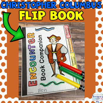 Christopher Columbus or Indigenous Peoples' Day Flip Book Explorers Activity