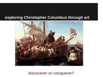 Christopher Columbus through Art: Using Informational Text